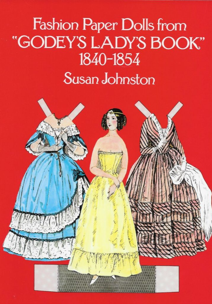 Fashion Paper Dolls Godey's Lady's Book