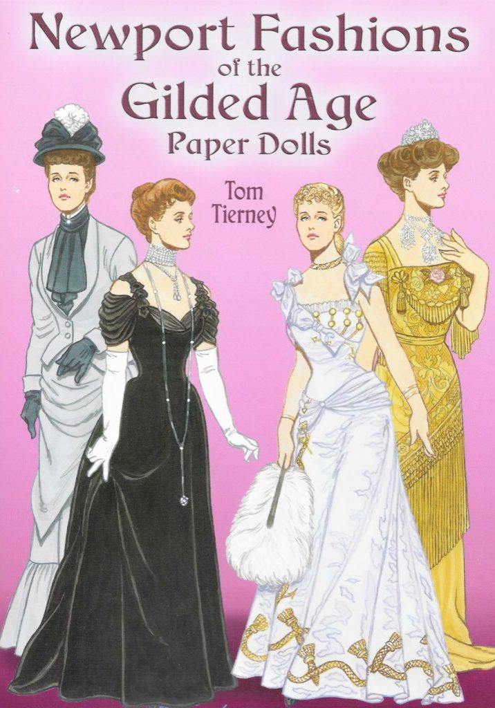 Newport Fashions of the Gilded Ages Paper Dolls